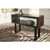 Parlone - Brown/Black - Sofa Table