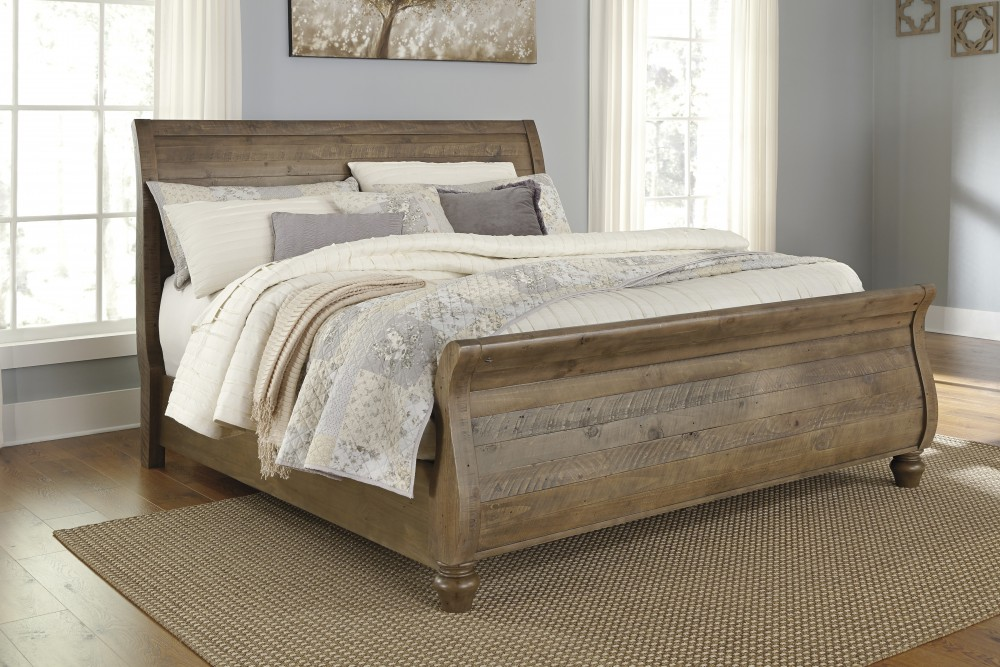 Trishley California King Sleigh Bed