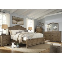 Trishley 5 Pc. Bedroom - Dresser, Mirror & Queen Panel Bed