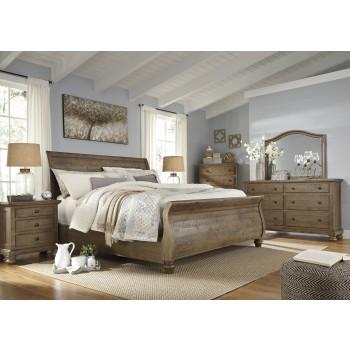 Trishley 5 Pc. Bedroom - Dresser, Mirror & Queen Sleigh Bed