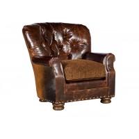 KING HICKORY Oscar Chair, Oscar Ottoman