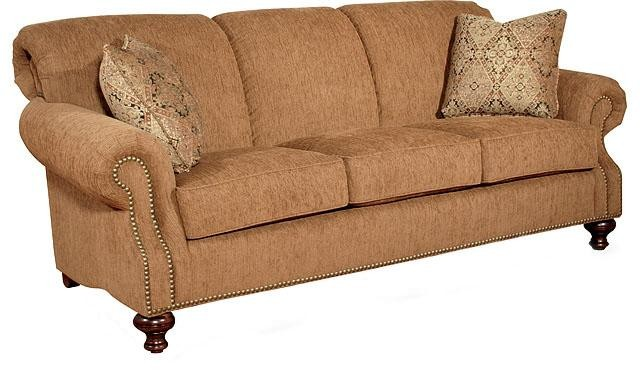KING HICKORY Lana Fabric Sofa