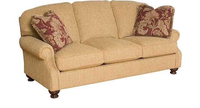 KING HICKORY Bailey Fabric Sofa