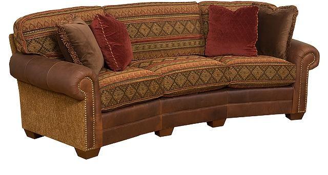 King Hickory Bentley Conversation Sofa 4465plmlf Sofas