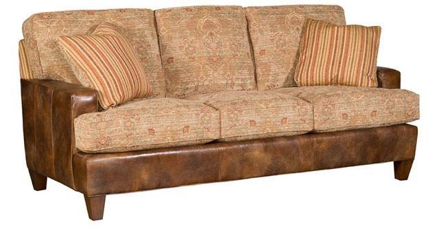Surprising King Hickory Chatham Leather Fabric Sofa 5900Tlmlf Inzonedesignstudio Interior Chair Design Inzonedesignstudiocom