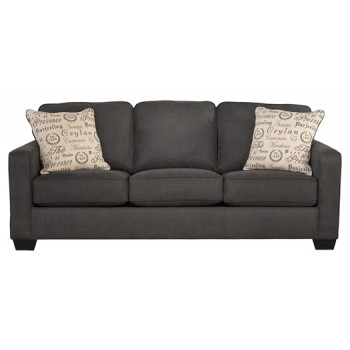 Alenya - Charcoal - Queen Sofa Sleeper