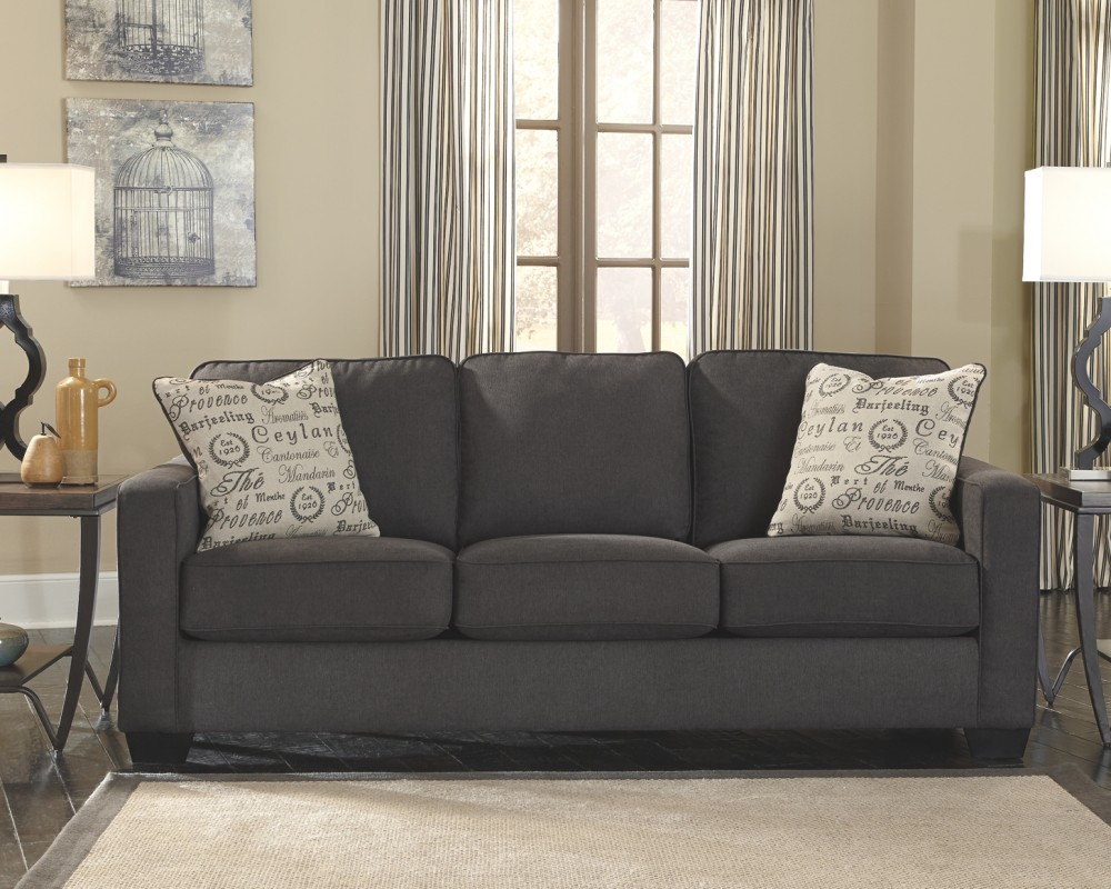 Alenya Charcoal Queen Sofa Sleeper 1660139 Sleeper