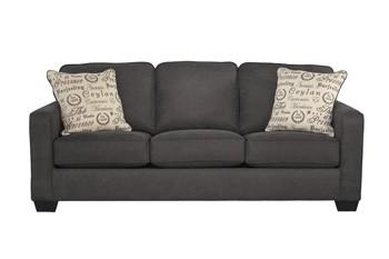 Alenya - Charcoal - Queen Sofa Sleeper   1660139   Sleeper Sofas ...