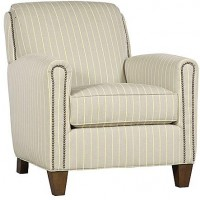 KING HICKORY Austin Fabric Chair, Austin Ottoman (Not Shown)