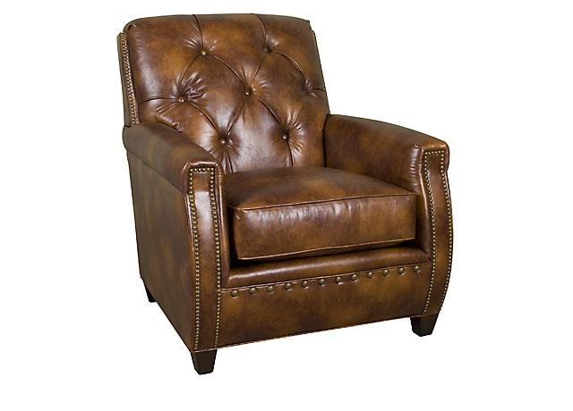 KING HICKORY Wyatt Leather Chair