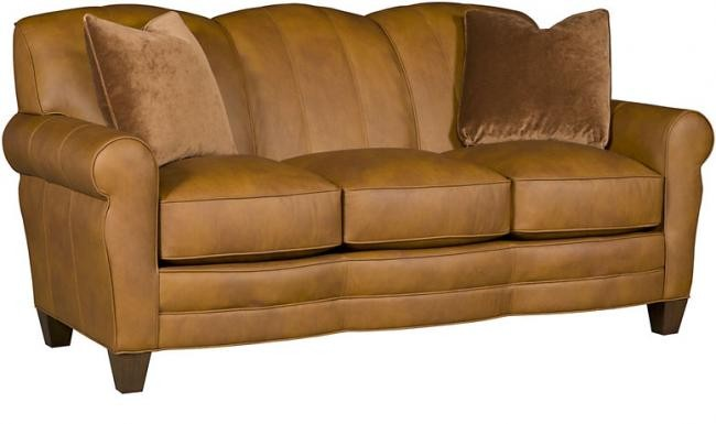 King Hickory Robinson Leather Sofa C4275l Leather Reclining Love