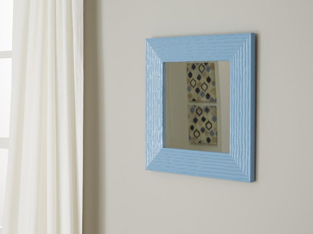 Odelyn - Aqua - Accent Mirror