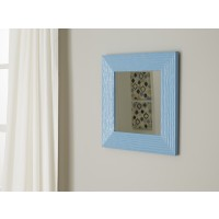 Odelyn - Aqua - Accent Mirror