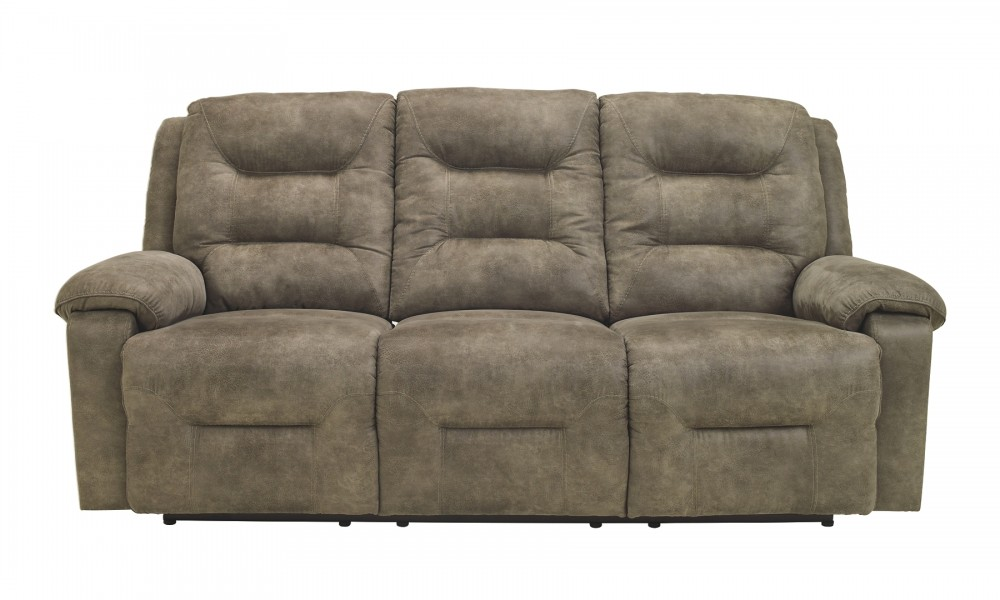 Rotation - Smoke - Reclining Power Sofa