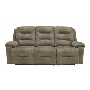 Rotation - Smoke - Reclining Power Sofa