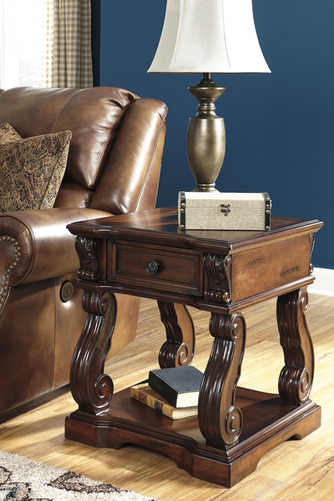 Alymere - Square End Table