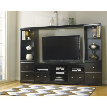 Shay - Fireplace TV Stand Bridge