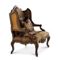 Schnadig Degas Wood Wing Chair