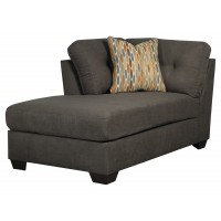 Delta City - Steel - LAF Corner Chaise