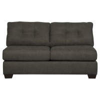 Delta City - Steel - Armless Loveseat