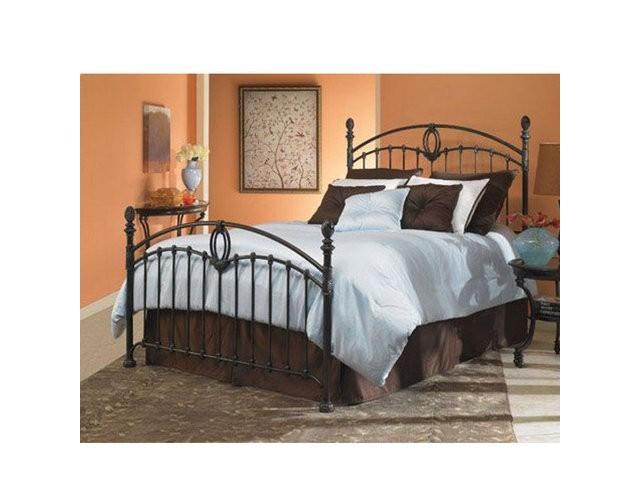 Coronado Bed In Tarnished Copper