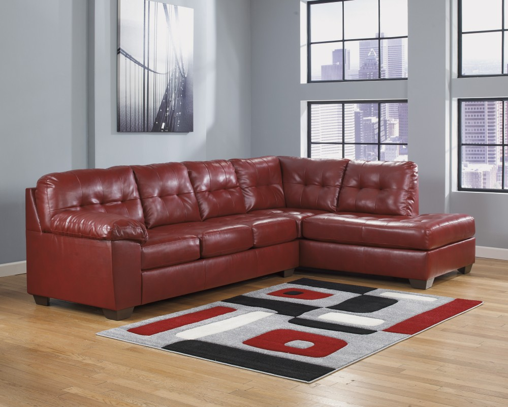 Alliston DuraBlend - Salsa 2 Pc. RAF Chaise Sectional