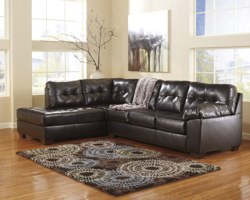 Alliston - Chocolate 2 Pc. LAF Chaise Sectional