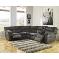 Tambo - Pewter 2 Pc Reclining Sectional