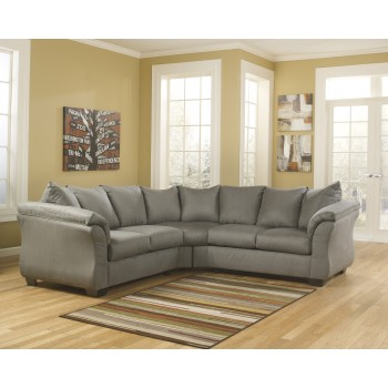 Darcy - Cobblestone 2 Pc. Sectional