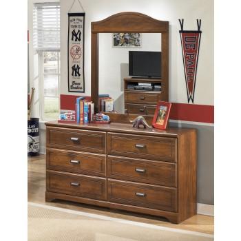 Barchan Dresser & Mirror