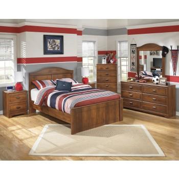 Barchan Full Bed, Dresser & Mirror