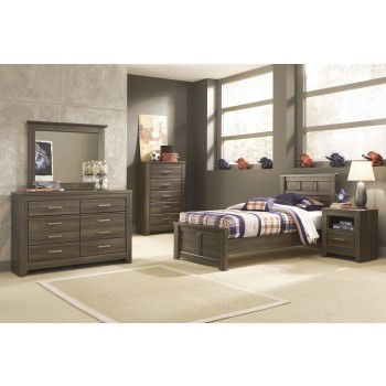 Juararo Twin Bed, Dresser & Mirror