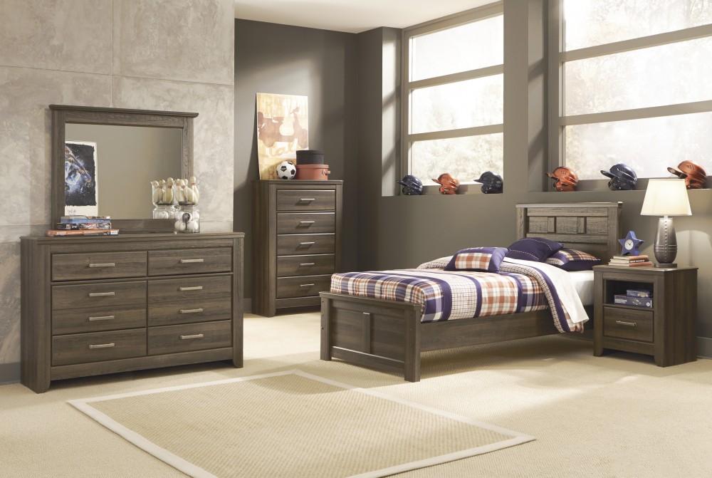 Juararo Twin Bed, Dresser & Mirror