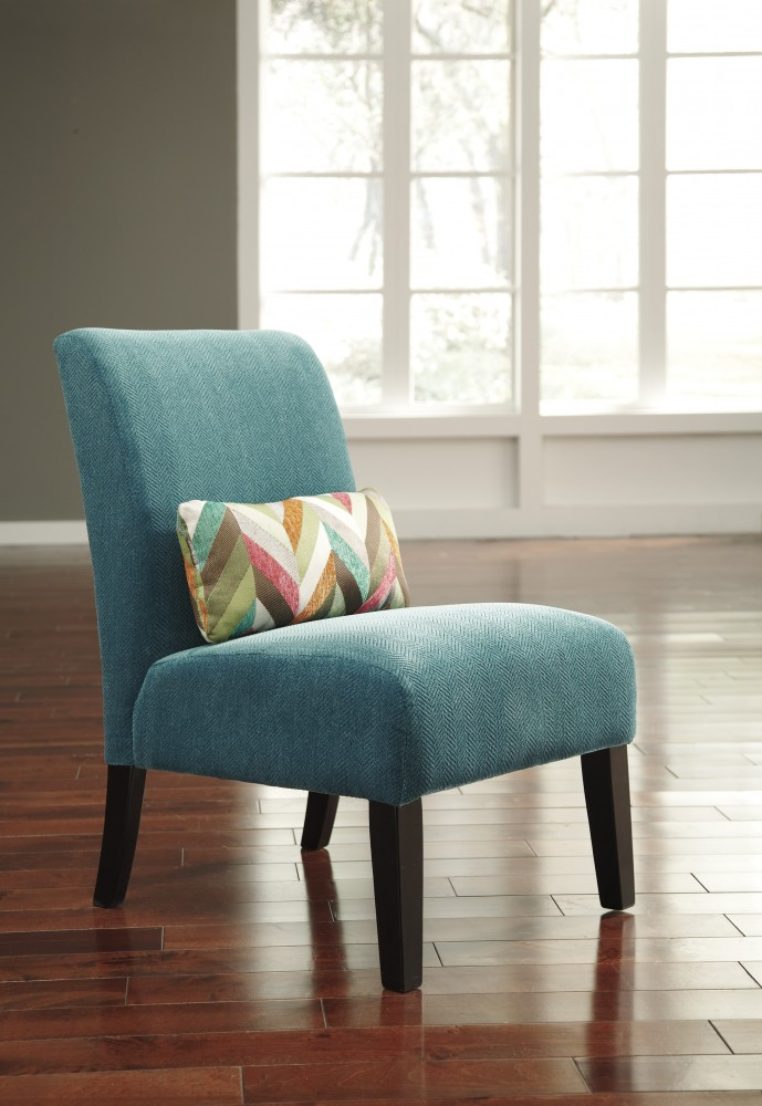 Annora Teal Accent Chair 6160460 Chairs One Stop Home