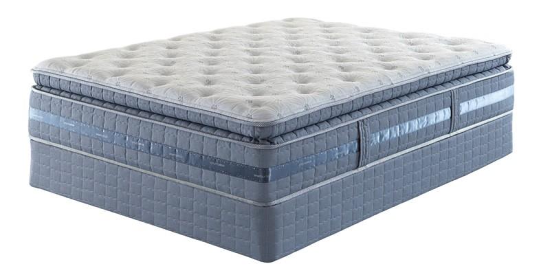 Serta Creswick Super Pillowsoft Queen Mattress Set