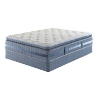 Serta Creswick Super Pillowsoft Queen Mattress Set