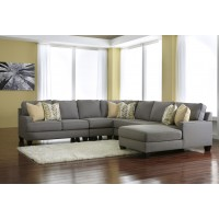 Chamberly - Alloy 5 Pc. RAF Corner Chaise Sectional
