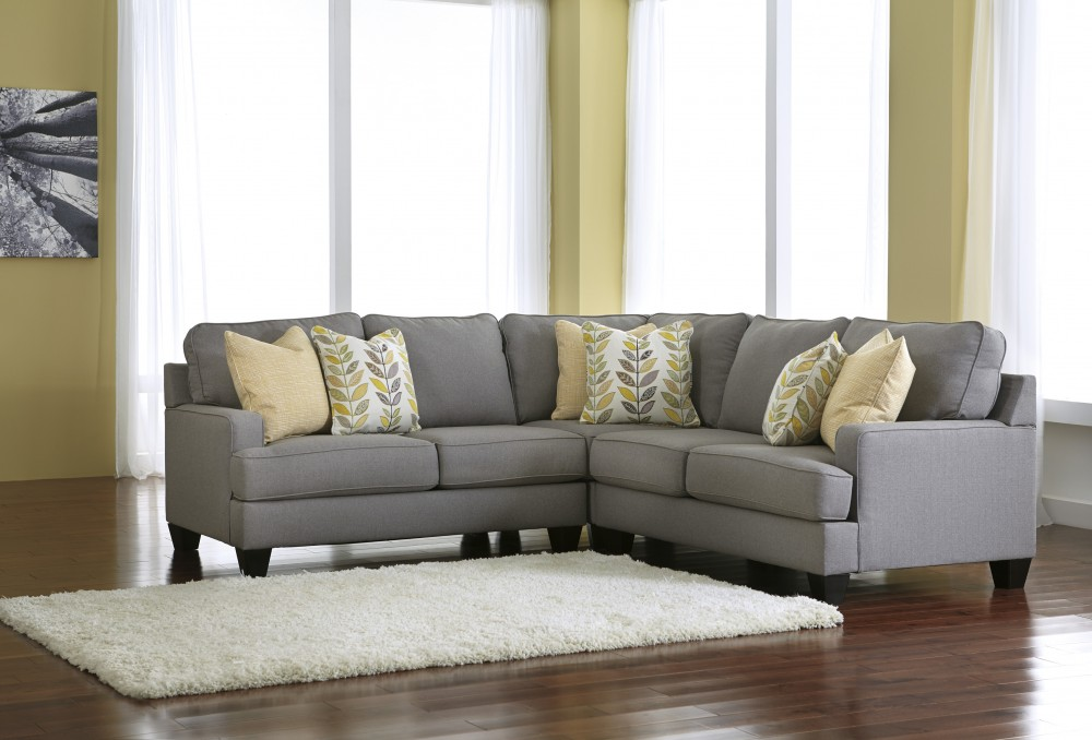 Chamberly   Alloy 3 Pc. Sectional