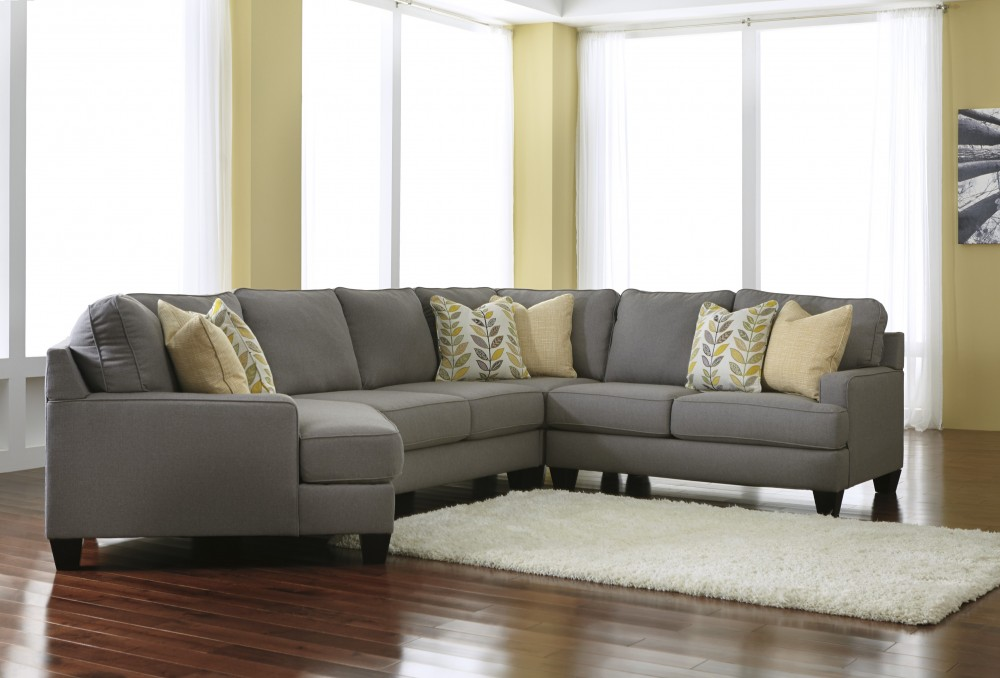 Chamberly - Alloy 4 Pc.  RAF Loveseat Sectional