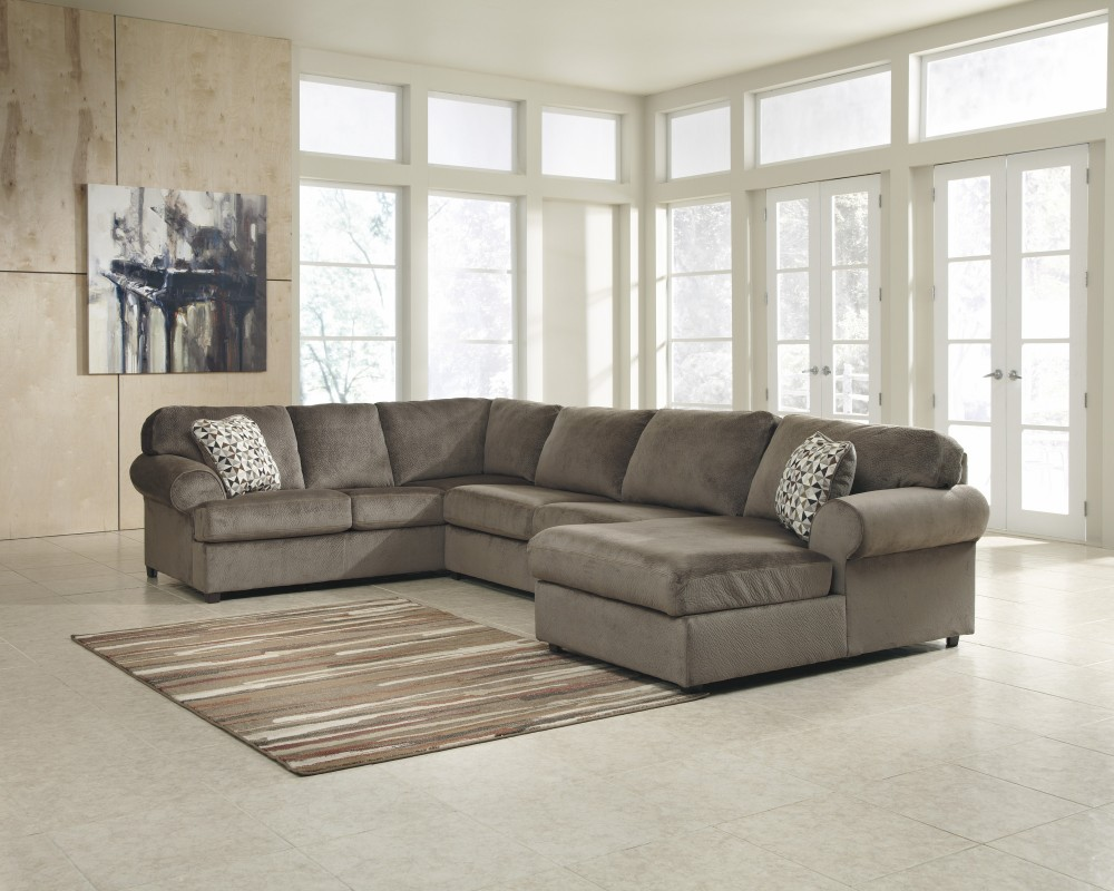 warehouse place room jessa sectional dune living justyna raf shop overstock lexington teak chaise
