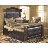 Coal Creek Queen Bed with Underbed Storage