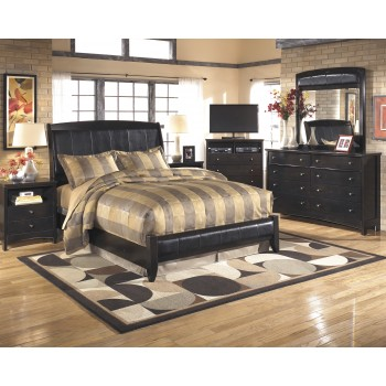 Harmony 4 Pc. Bedroom - Dresser, Mirror & Queen Platform Bed