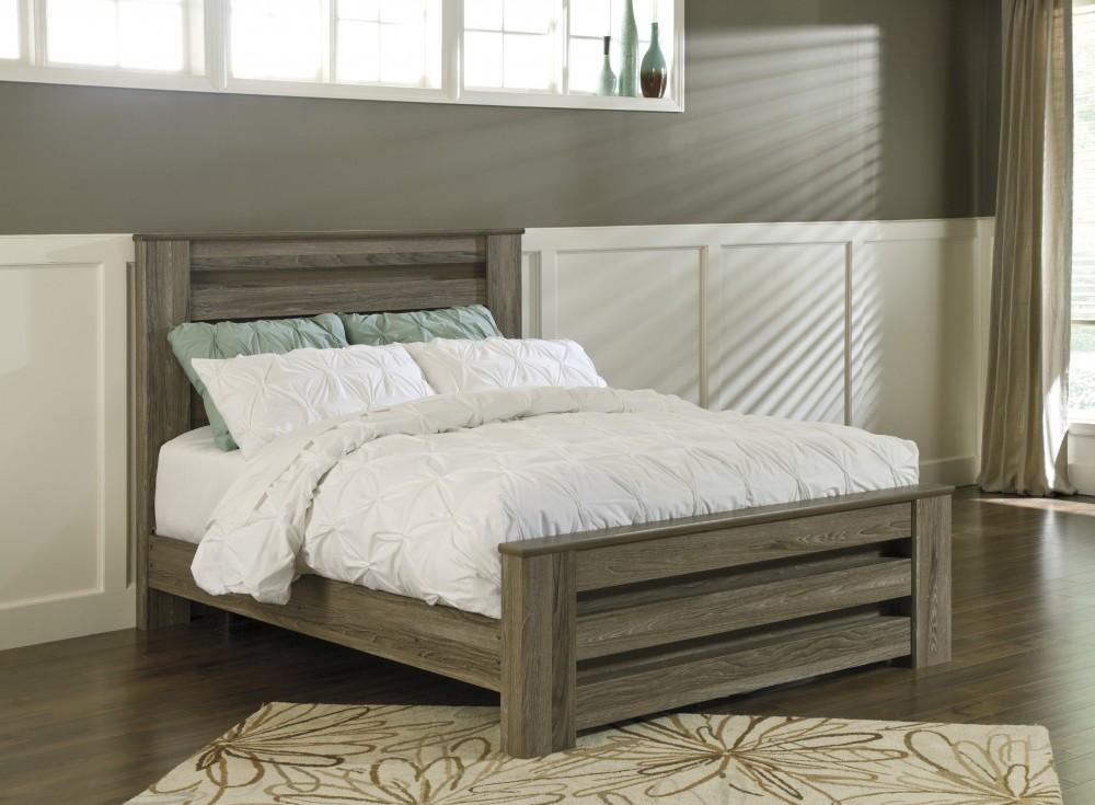 Zelen Queen Poster Bed