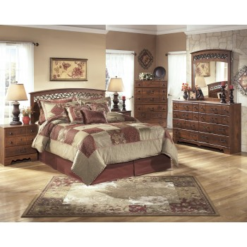 Timberline 3 Pc. Bedroom - Dresser, Mirror & Queen/Full Panel Headboard