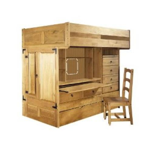 Rustica Full over Twin Bunk Bed Group