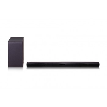 LG 2.1ch 300W Sound Bar with Wireless Subwoofer and Bluetooth(R) Connectivity