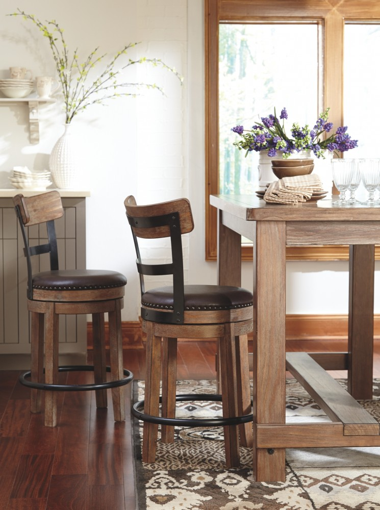 Pinnadel Rect Dining Room Counter Table Pub Tables
