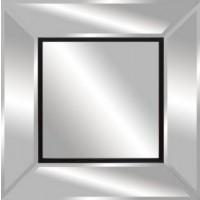 Modern Black Outline Mirror