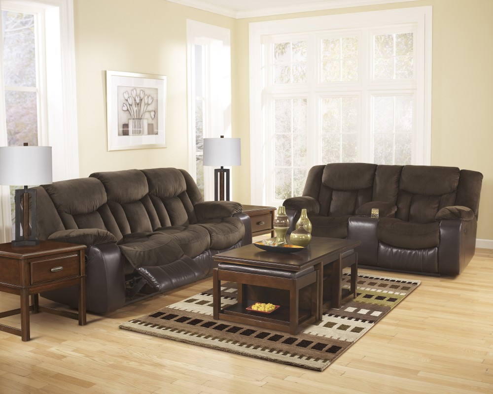 Tafton - Java - Reclining Living Room Group