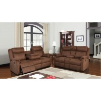 A.W.F. U9303 Chocolate Sofa and/or Recliner